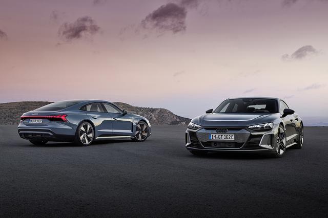 画像1: 「Audi e-tron GT」がワールドプレミア