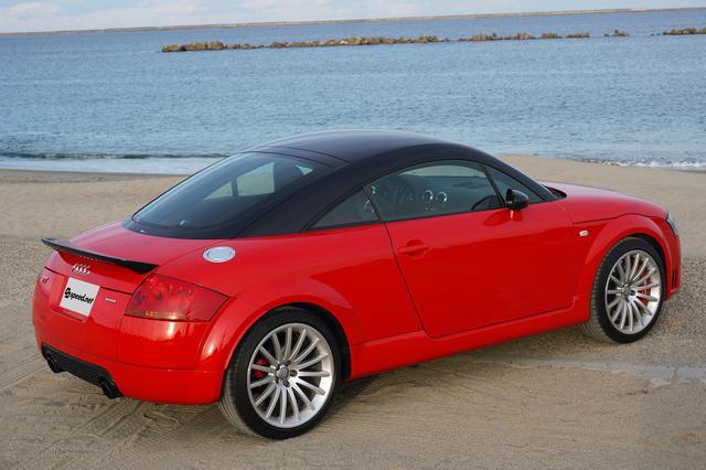 画像5: Audi TT Coupe quattro sportで久しぶりの出番
