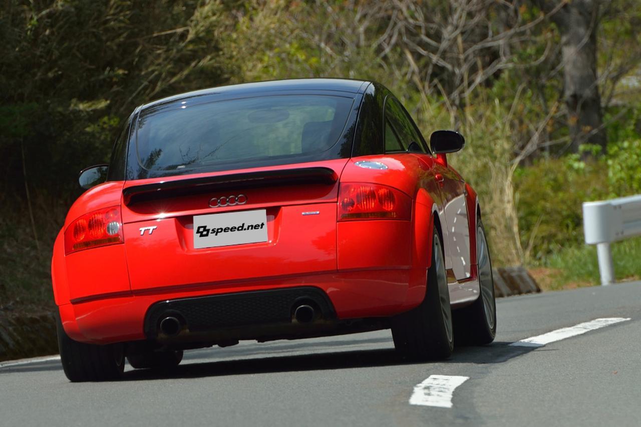 画像8: 【試乗記】Audi TT Coupe quattro sport[再]