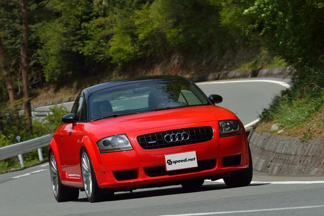 画像7: 【試乗記】Audi TT Coupe quattro sport[再]
