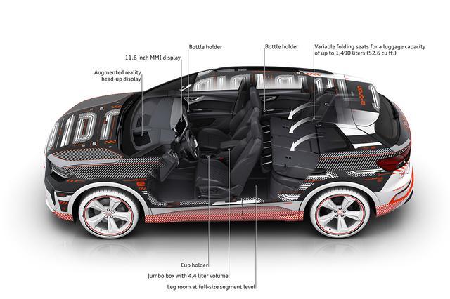 画像9: 「Audi Q4 e-tron」のインテリアが明らかに