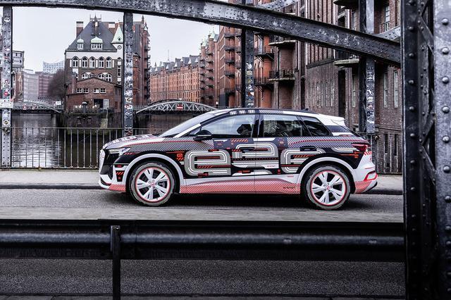 画像1: 「Audi Q4 e-tron」のインテリアが明らかに