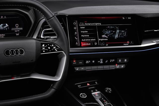 画像5: 「Audi Q4 e-tron」のインテリアが明らかに