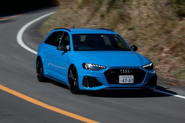画像6: 【ミニ試乗記】Audi RS 4 Avant