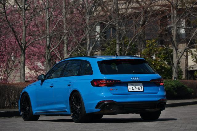画像7: 【ミニ試乗記】Audi RS 4 Avant