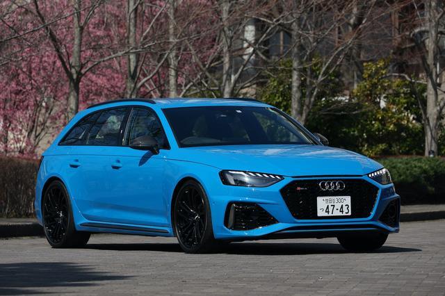 画像1: 【ミニ試乗記】Audi RS 4 Avant