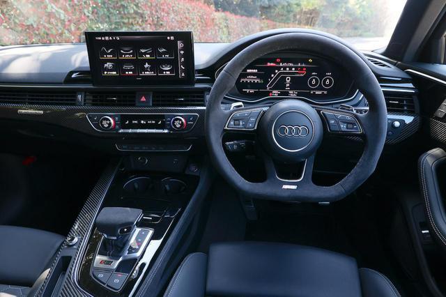 画像4: 【ミニ試乗記】Audi RS 4 Avant