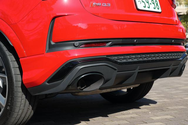 画像4: 【ミニ試乗記】Audi RS Q3 Sportback