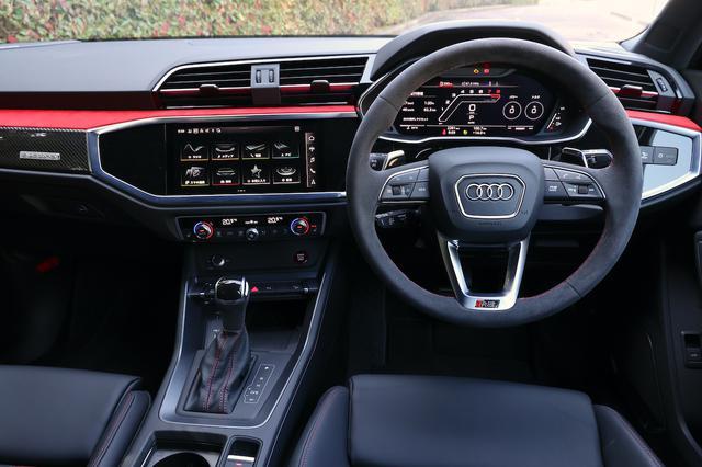 画像6: 【ミニ試乗記】Audi RS Q3 Sportback