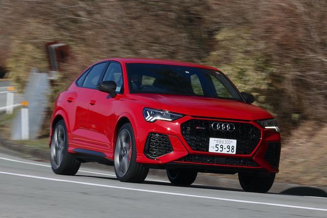 画像1: 【ミニ試乗記】Audi RS Q3 Sportback