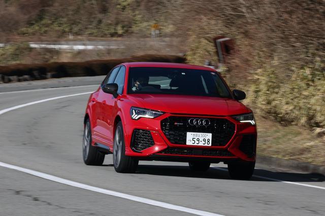 画像8: 【ミニ試乗記】Audi RS Q3 Sportback