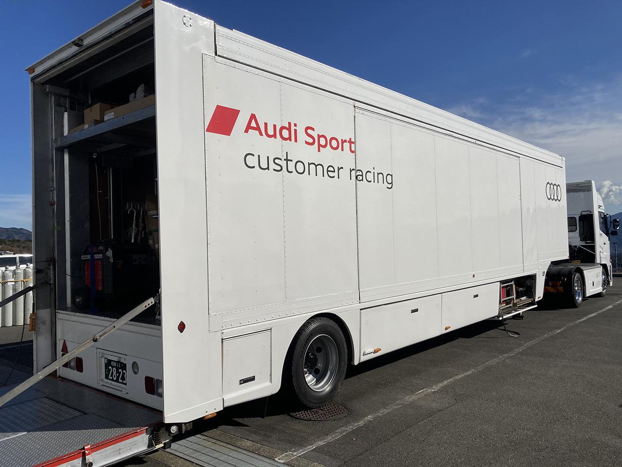 画像1: 日本でのAudi Sport customer racingの2021年活動体制発表