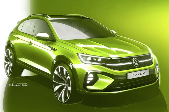 画像1: 新型SUV「Taigo」のイラストを公開