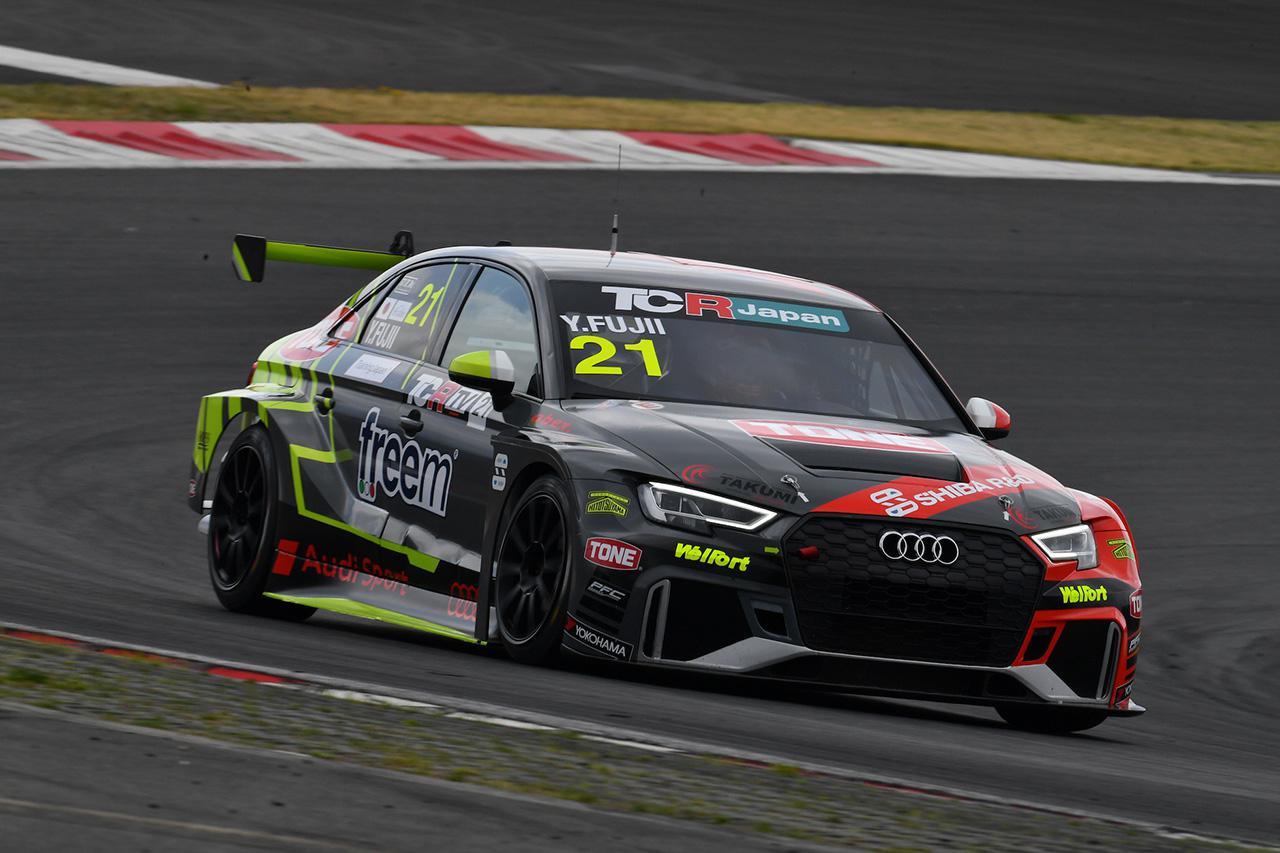 画像: #21 藤井優紀(Audi RS 3 LMS)