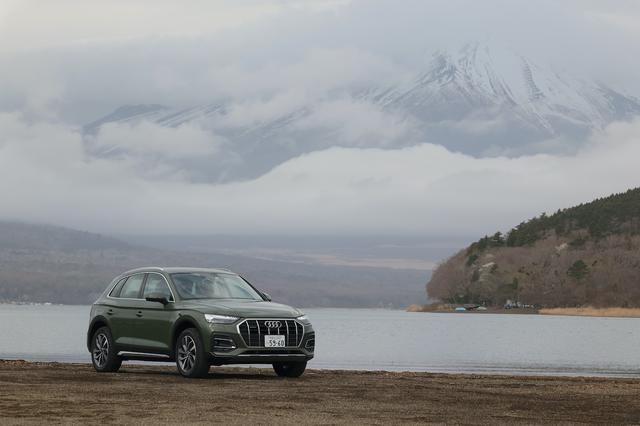 画像1: 【試乗記】Audi Q5 40 TDI quattro advanced