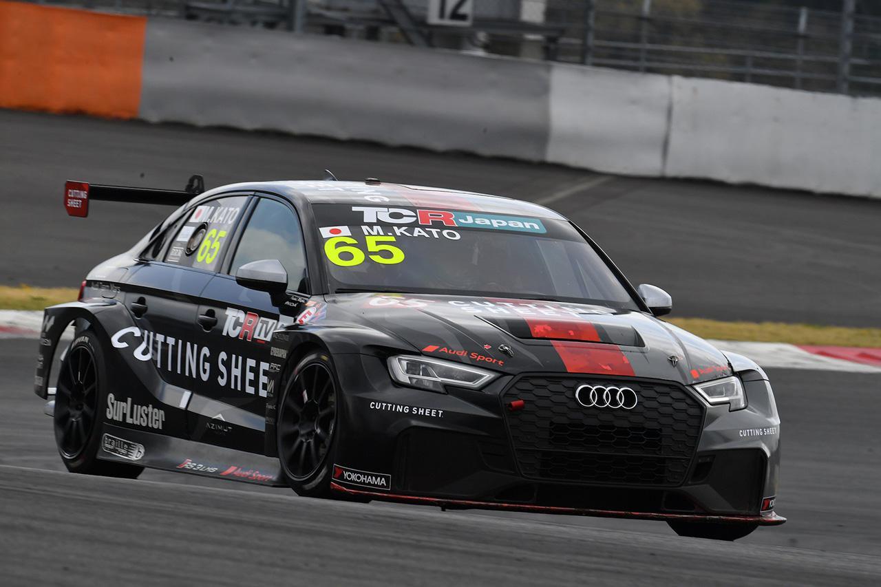 画像: #65 加藤正将(Audi RS 3 LMS)