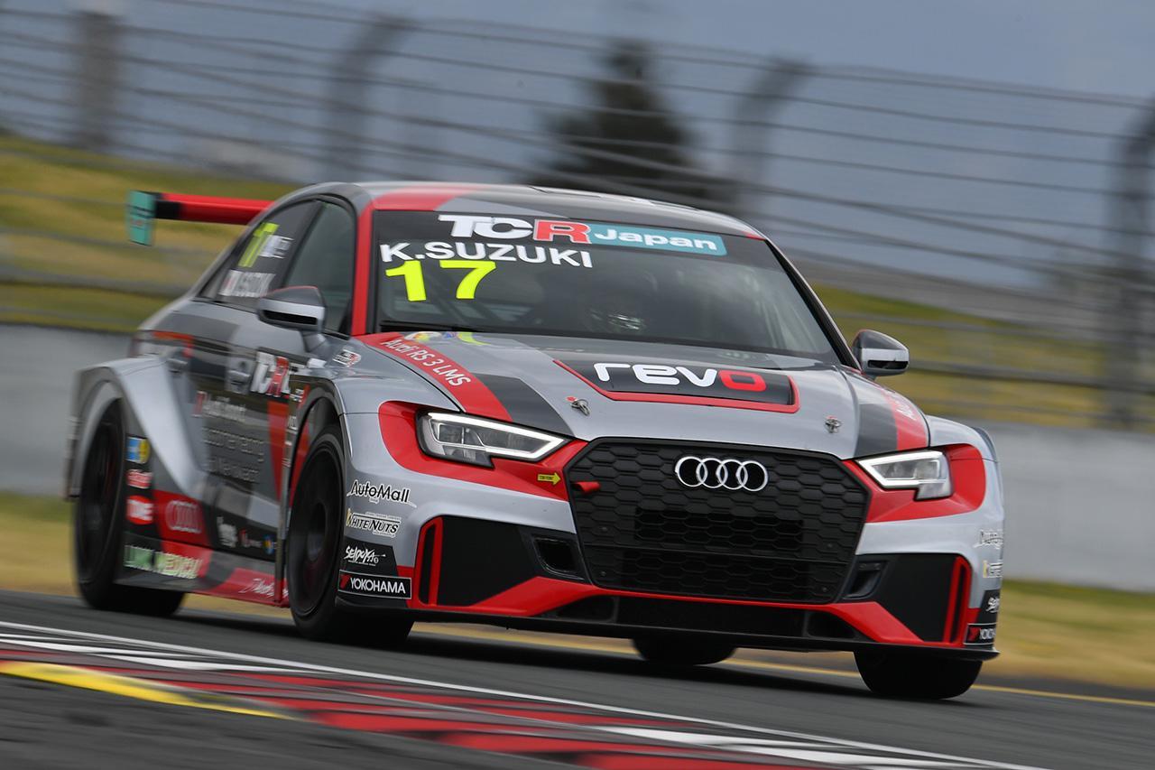 画像: #17 鈴木建自(Audi RS 3 LMS)