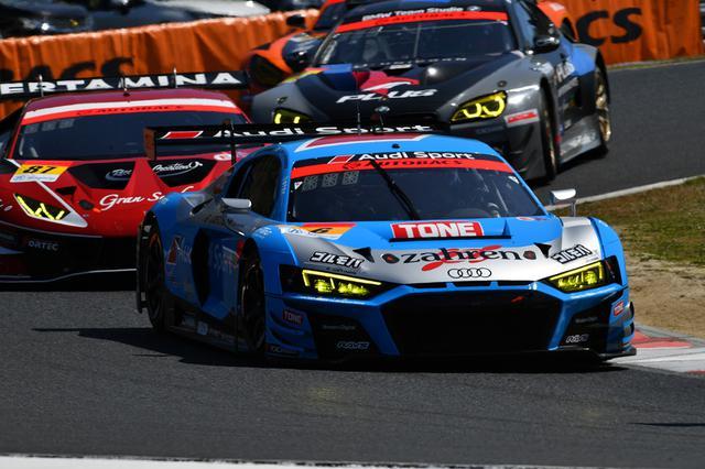 画像8: 【SUPER GT Rd.1 Okayama】2台のAudi R8 LMSが300kmレースを完走