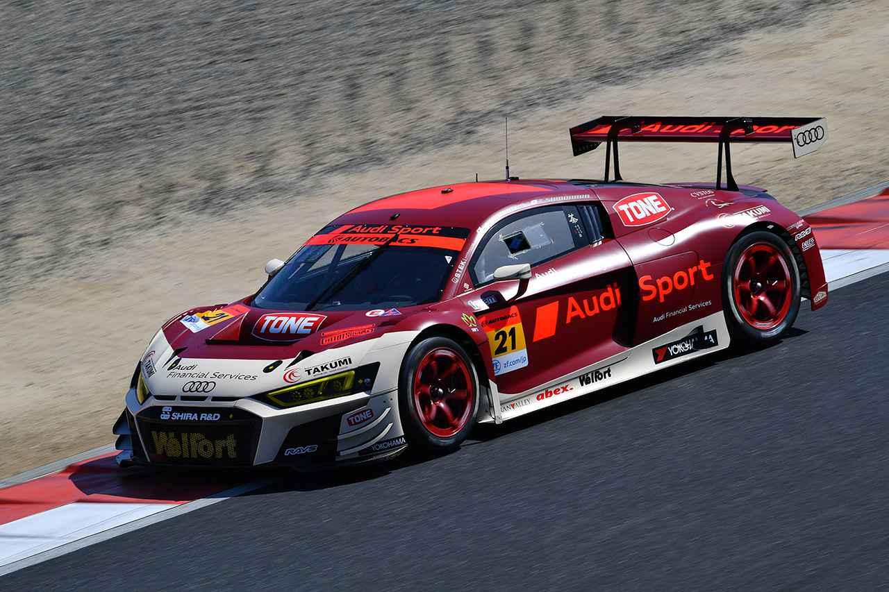 画像2: 【SUPER GT Rd.1 Okayama】2台のAudi R8 LMSが300kmレースを完走