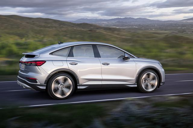 画像3: Audi Q4 Sportback e-tron