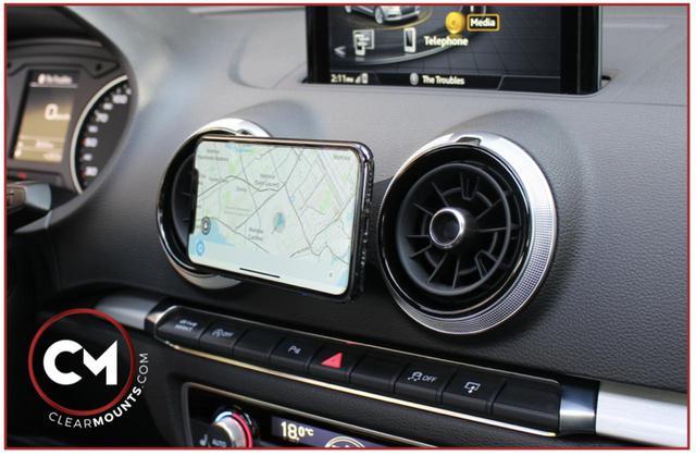 画像: Audi専用スマホホルダー「CLEARMOUNTS」発売 - 8speed.net VW、Audi、Porscheがもっと楽しくなる自動車情報サイト