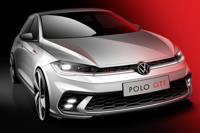 画像: VWが「ポロGTI」のデザインスケッチを公開