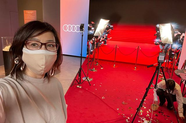 画像3: 気分はオスカー女優か?スーパーモデル!?  「Audi House of Progress Tokyo」期間限定イベント