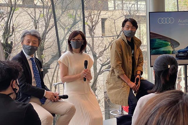 画像6: 気分はオスカー女優か?スーパーモデル!?  「Audi House of Progress Tokyo」期間限定イベント