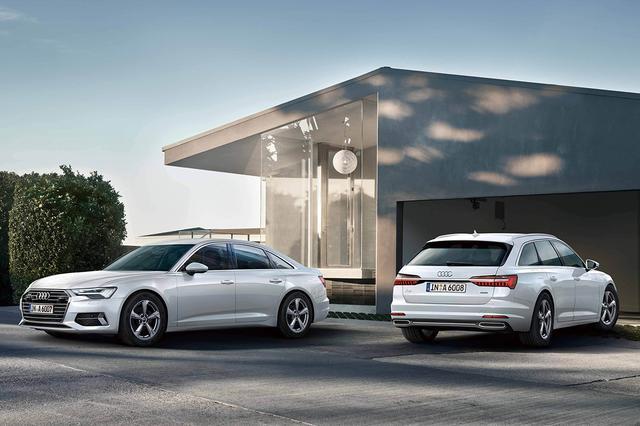 画像: 「Audi A6」のラインアップを変更