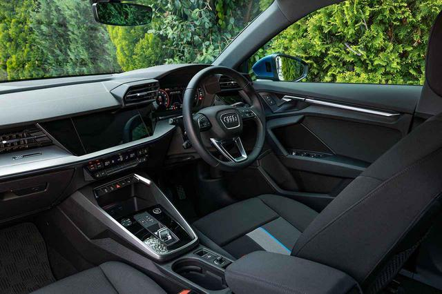 画像3: 【ミニ試乗記】Audi A3 Sportback 1st edition