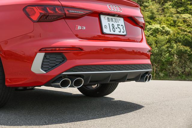 画像3: 【ミニ試乗記】Audi S3 Sedan