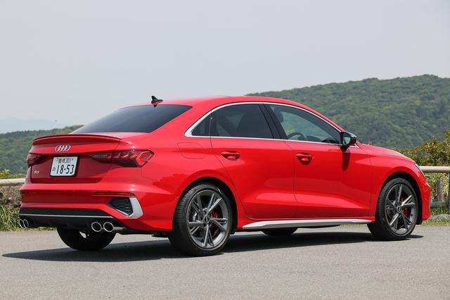 画像11: 【ミニ試乗記】Audi S3 Sedan