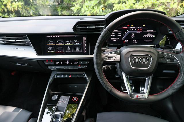 画像4: 【ミニ試乗記】Audi S3 Sedan