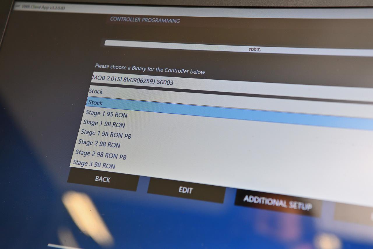 画像9: 【Racingline】「OEM+」でゴルフ7.5Rをパワーアップ!