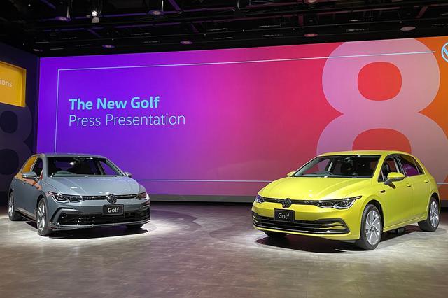 画像2: 「新型ゴルフ」の発表会に見た8代目ゴルフの本気!