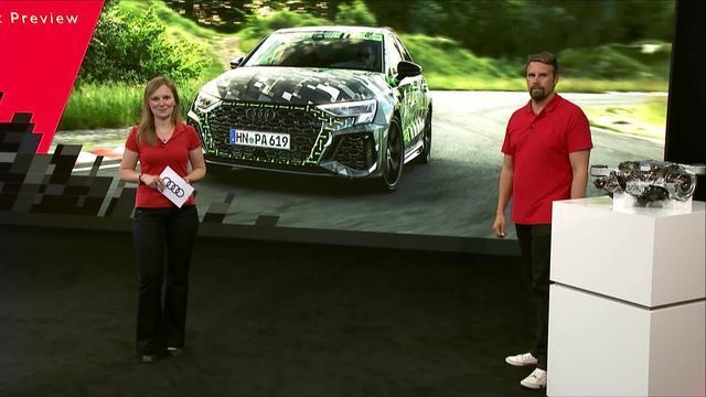画像: Digital Sneak Preview of the Audi RS 3 prototype - Audi MediaTV