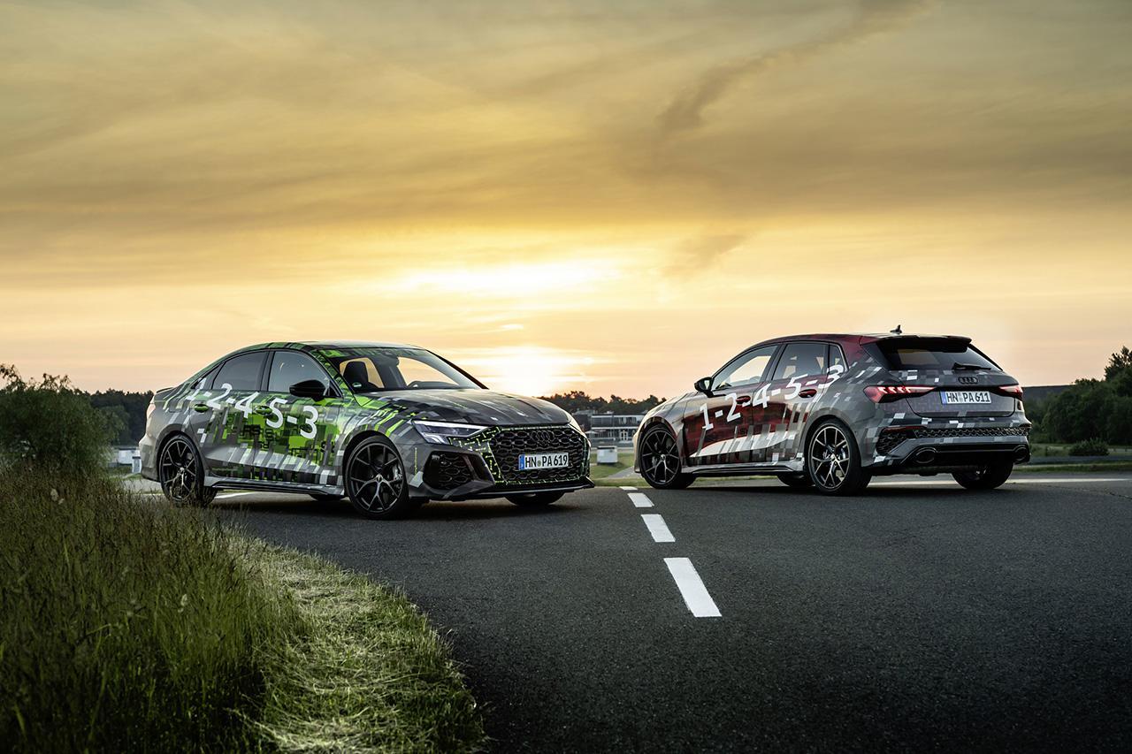 画像: 新型Audi RS 3 prototype