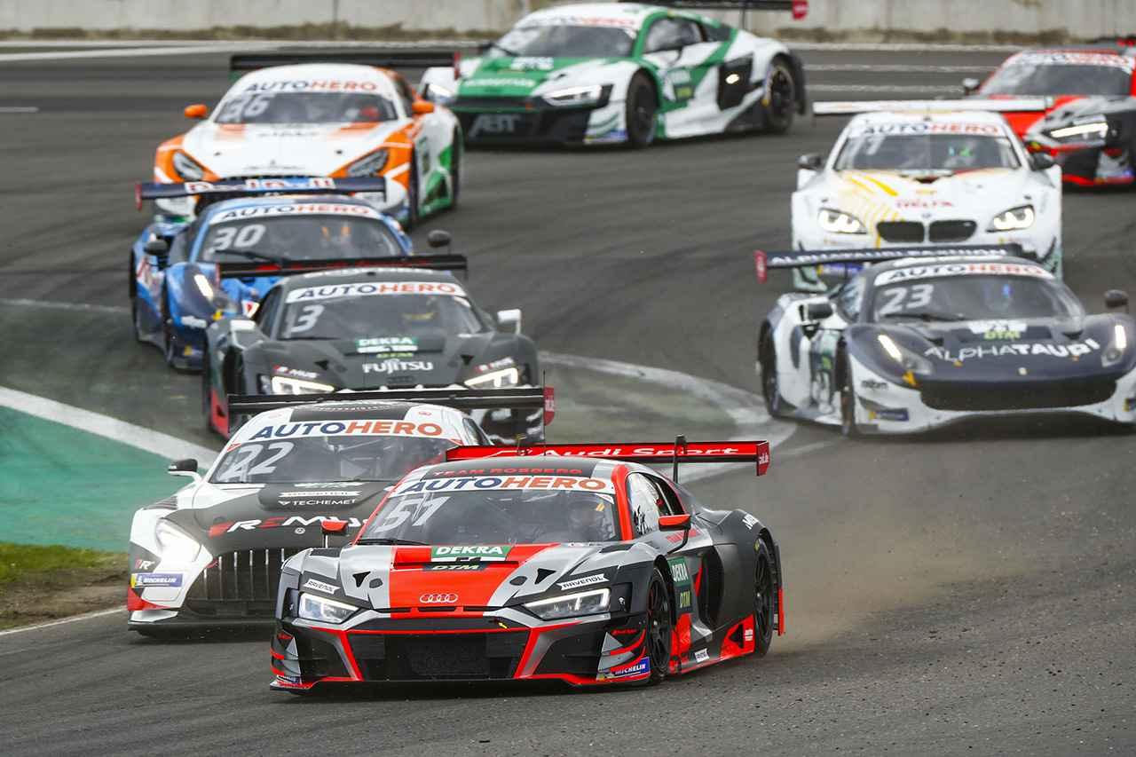 画像1: 【DTM Rd.1 Monza】開幕戦レース2でAudiが1-2フィニッシュ