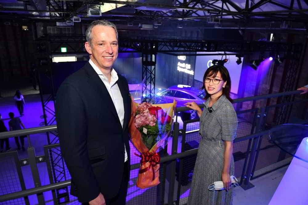 画像2: 新型「Audi Q5 Sportback」発表会とキュートなノアック社長の退任