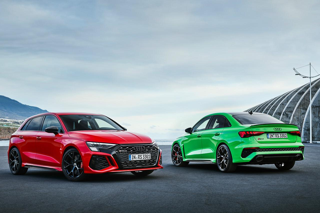 画像1: 新型「Audi RS 3」発表
