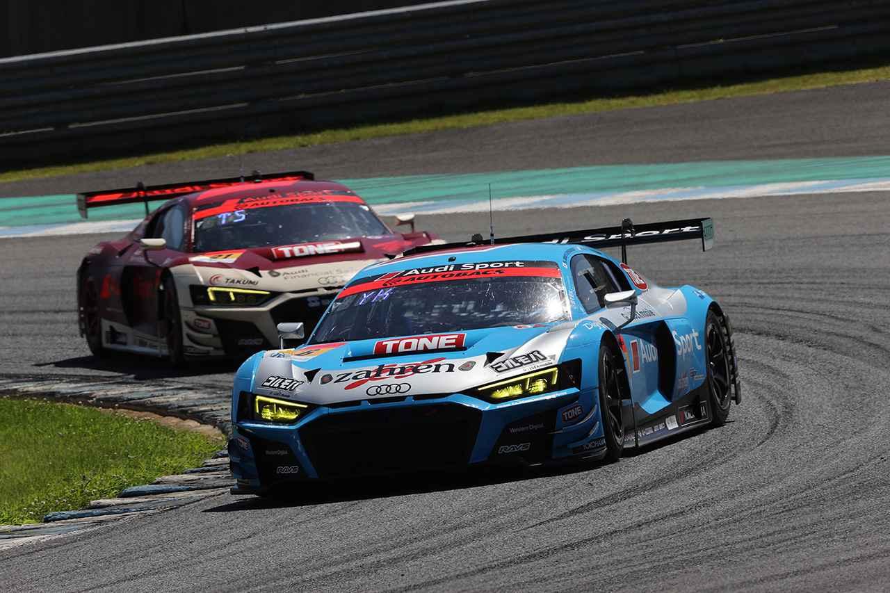 画像1: 【SUPER GT Rd.4 Motegi】2台のAudi R8 LMSがともに完走