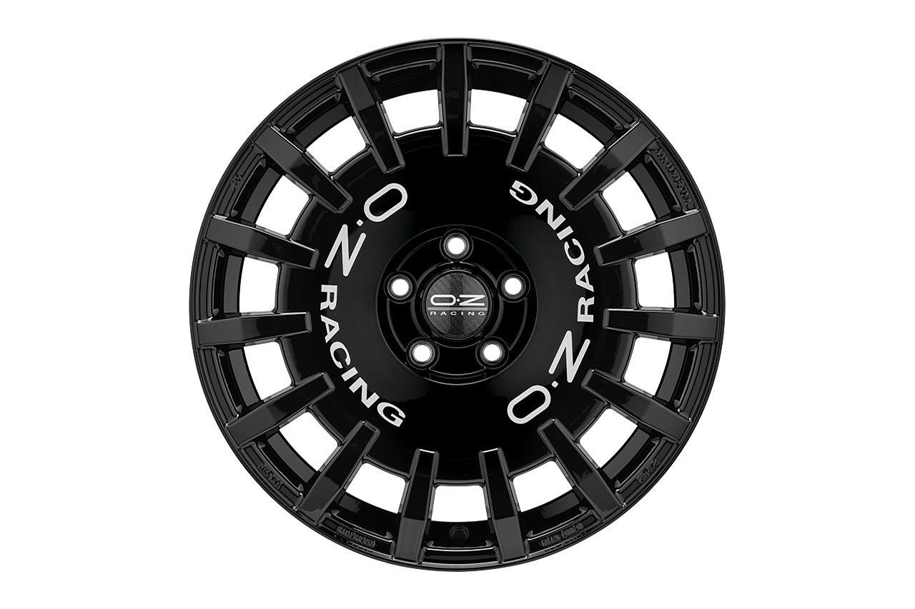 画像2: 【O・Z】「Rally Racing」に待望のグロスブラック追加