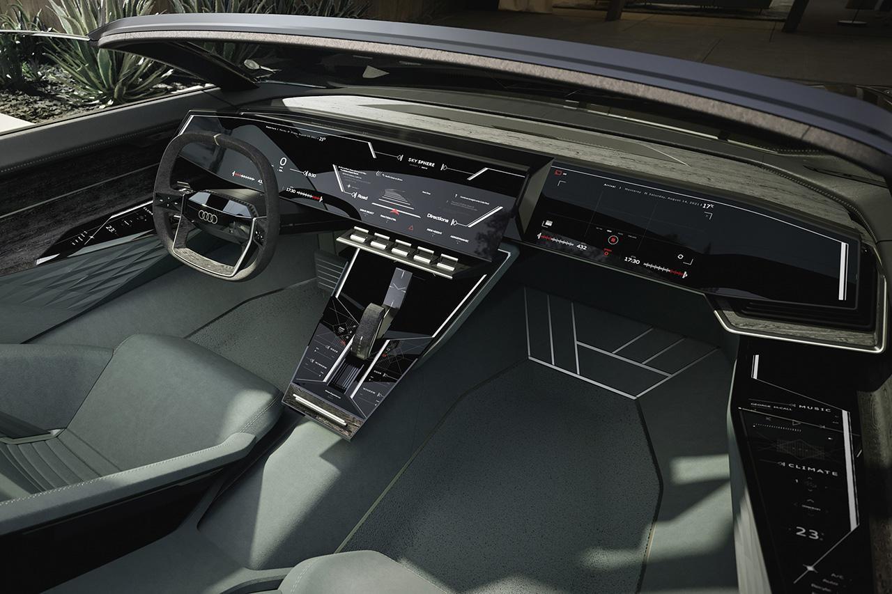 画像2: モントレーで「Audi skysphere concept」発表