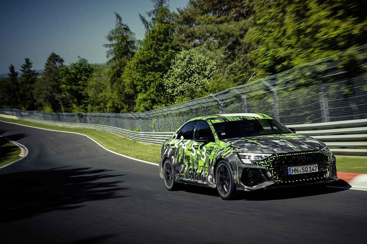 画像3: 新型「Audi RS 3 Sedan」がニュルブルクリンクでコンパクトクラス最速タイムをマーク