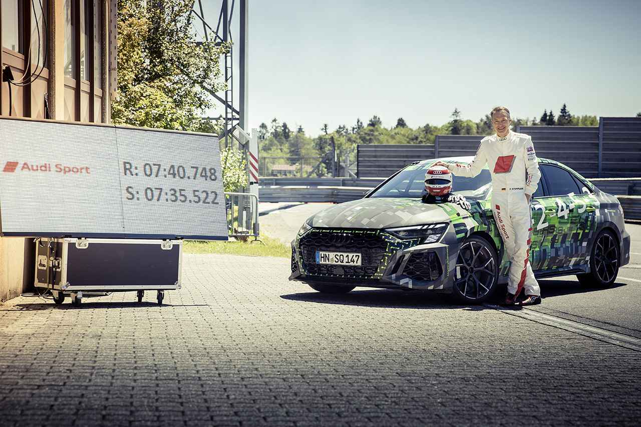 画像4: 新型「Audi RS 3 Sedan」がニュルブルクリンクでコンパクトクラス最速タイムをマーク