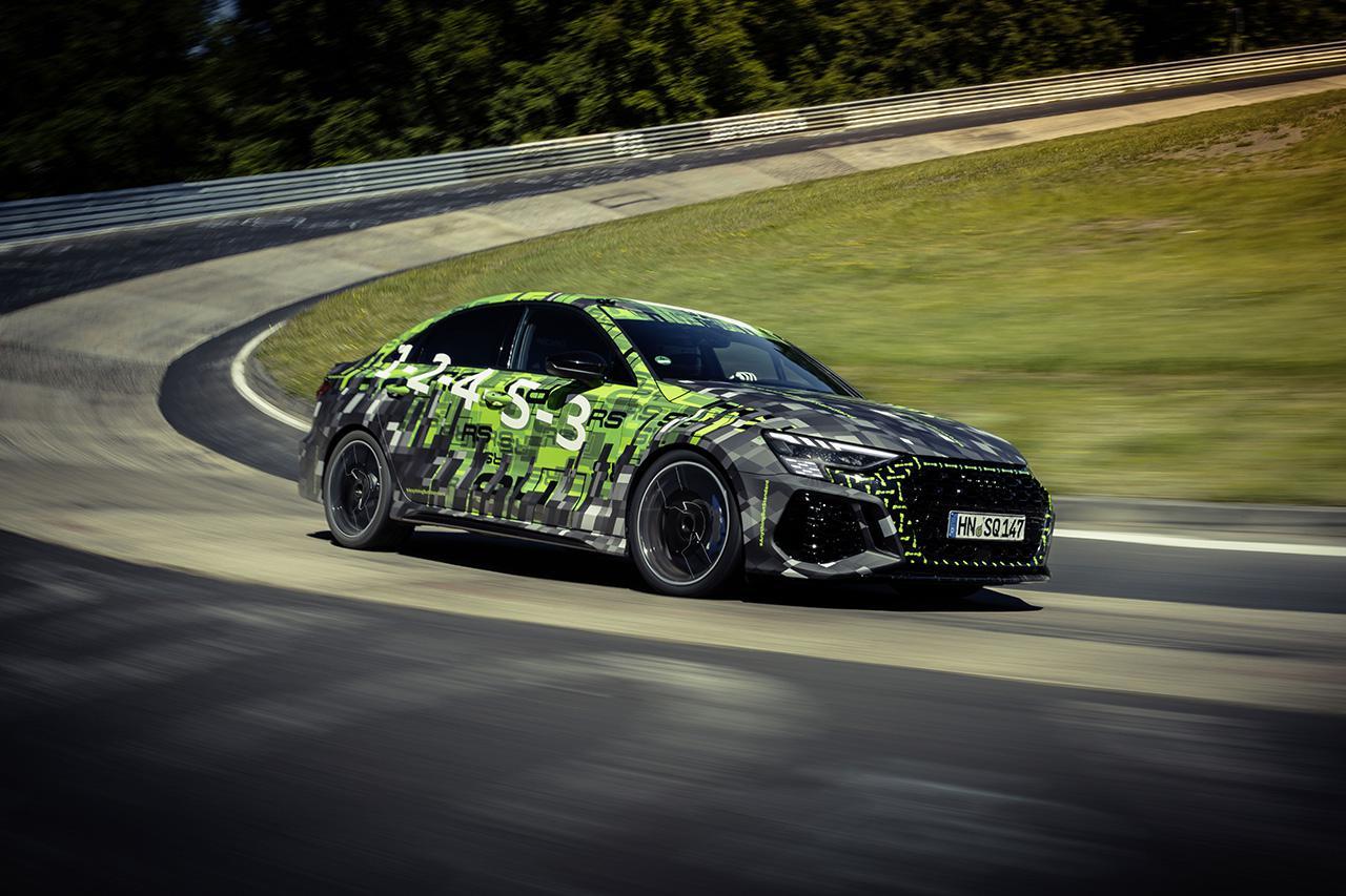 画像1: 新型「Audi RS 3 Sedan」がニュルブルクリンクでコンパクトクラス最速タイムをマーク