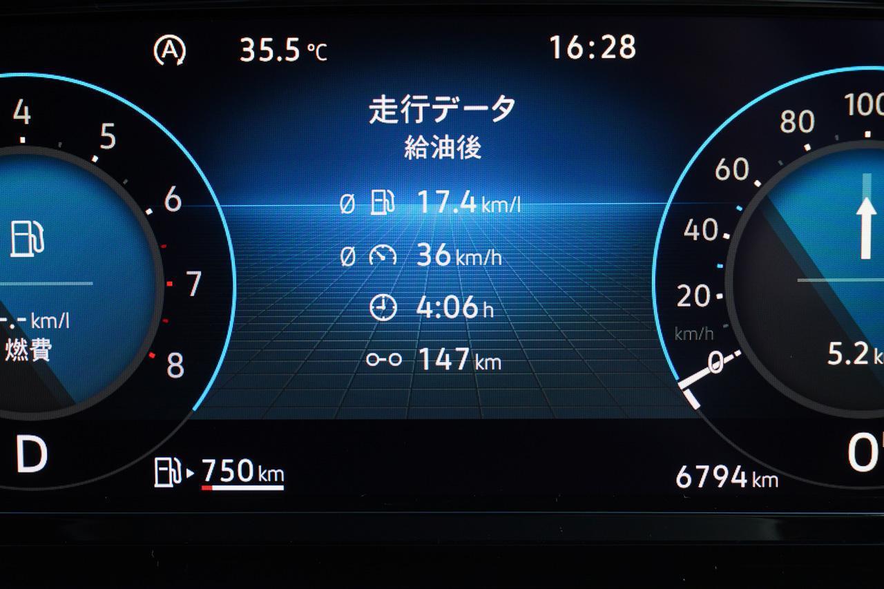 画像2: 【燃費調査】「ゴルフeTSI Active」で30km/L超え!