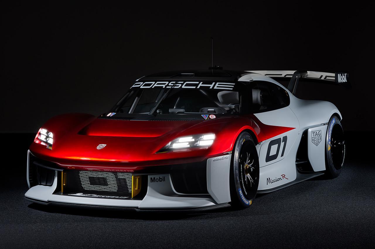 画像1: ポルシェがコンセプトカー「Mission R」を発表