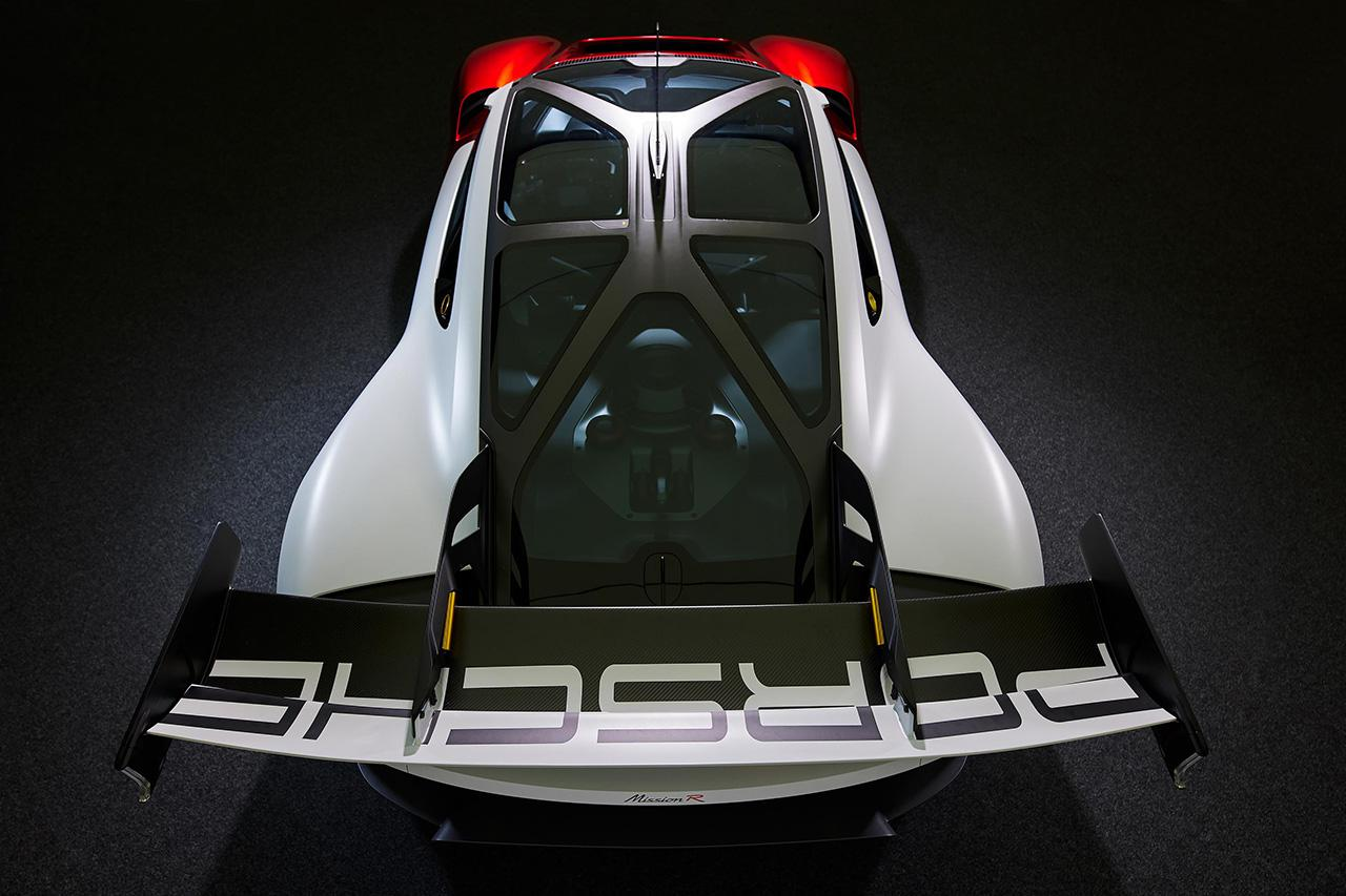 画像5: ポルシェがコンセプトカー「Mission R」を発表