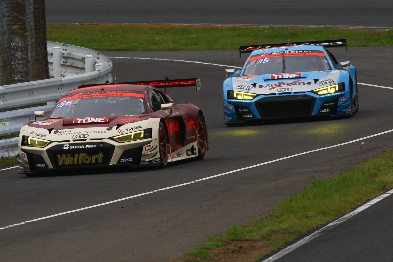 画像: 【SUPER GT Rd.5 Sugo】不運やアクシデントを撥ねのけ2台ともに完走